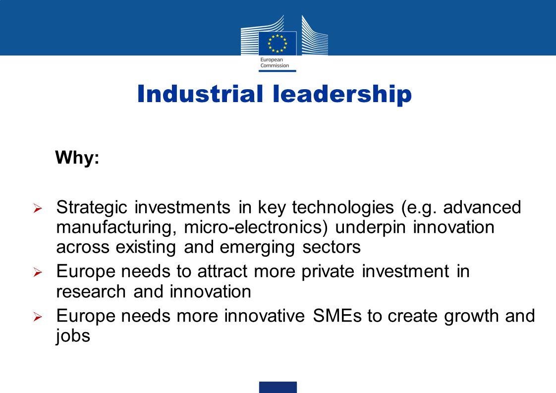 Industrial leadership
