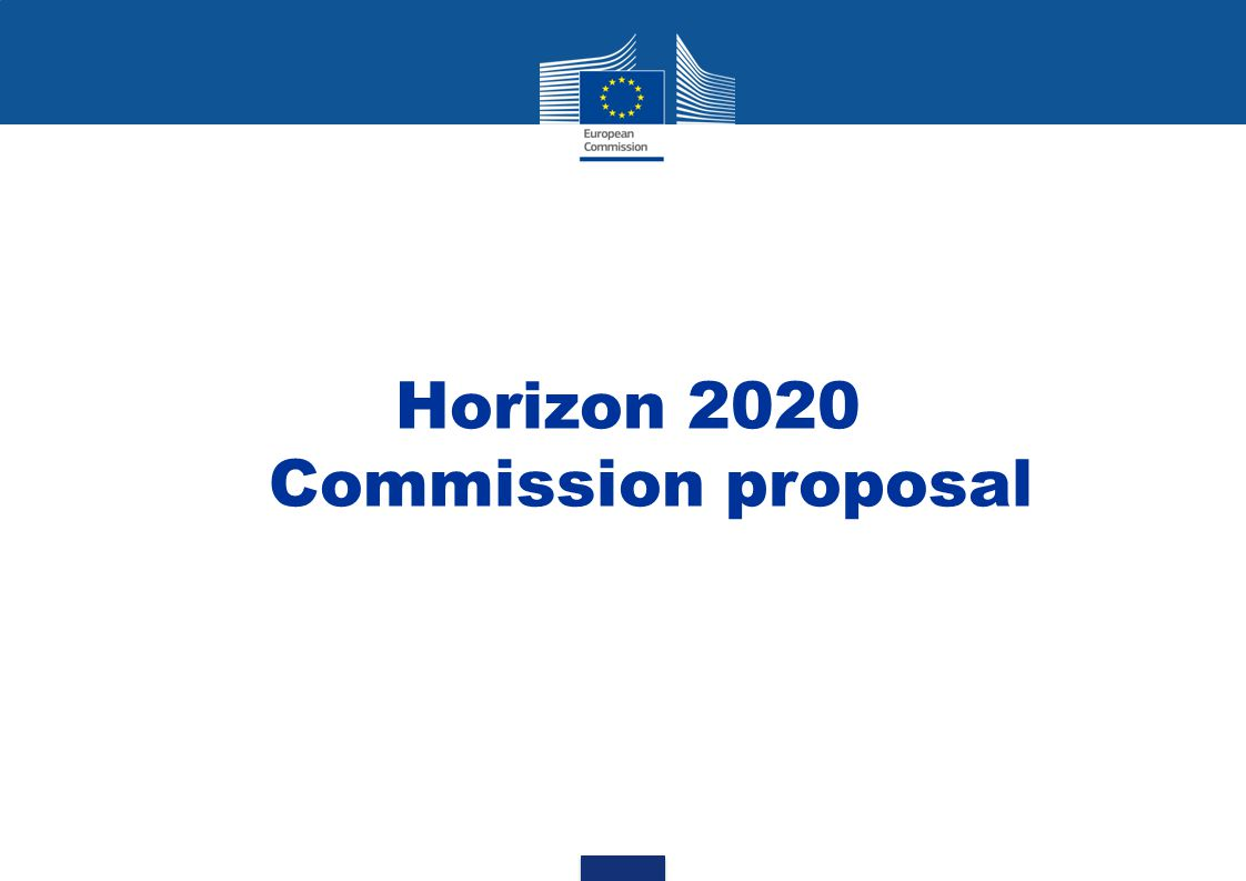 Horizon 2020 Commission proposal