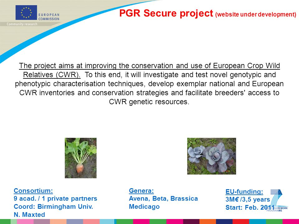 PGR Secure project (website under development)