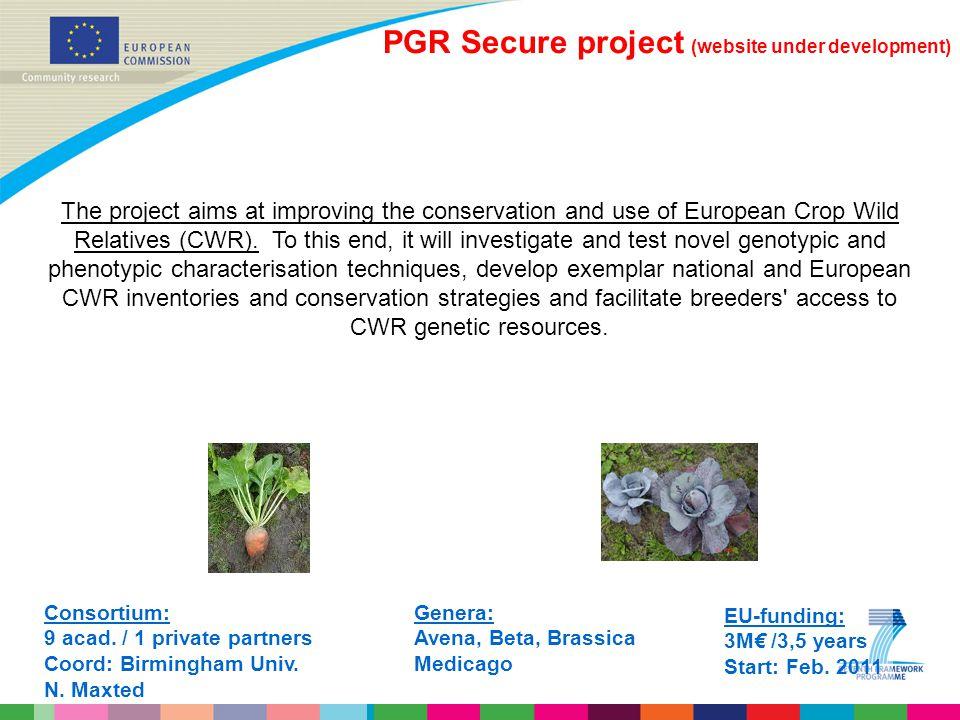 PGR Secure project (website under development)