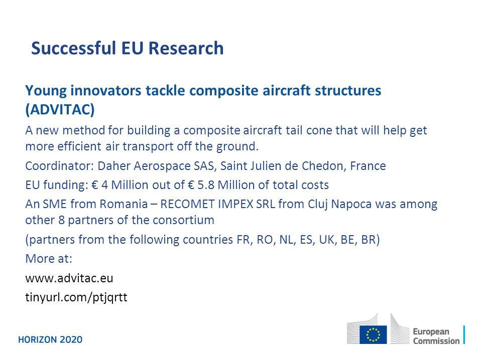 Successful EU Research