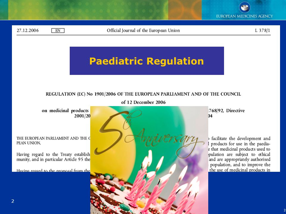 Paediatric Regulation