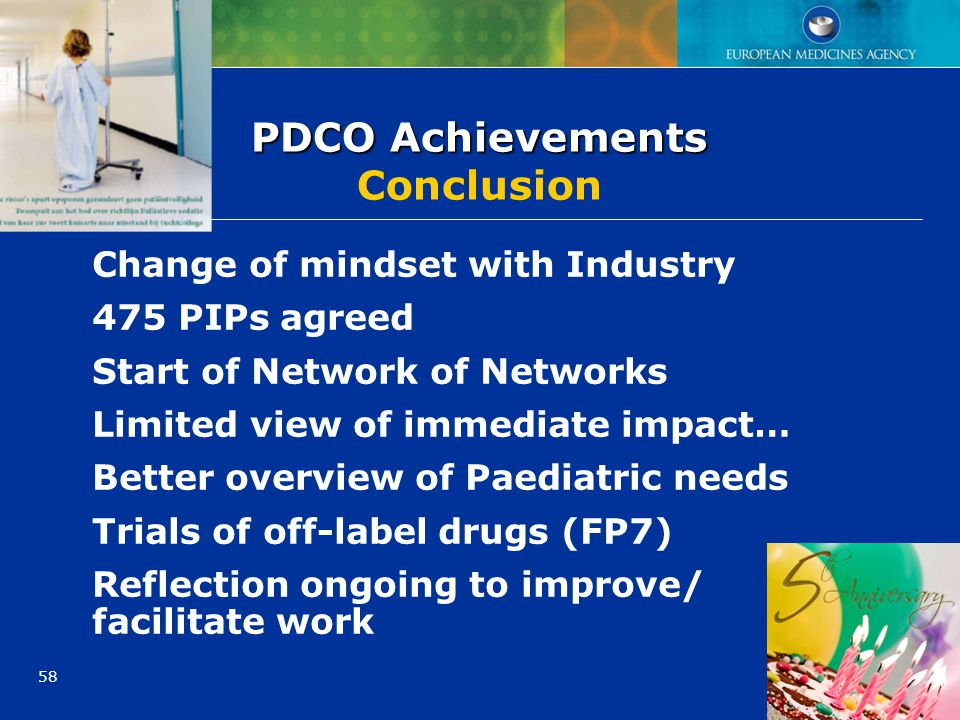 PDCO Achievements Conclusion