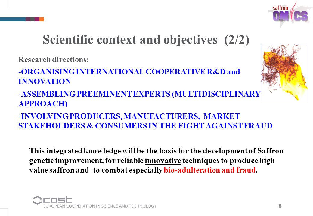 Scientific context and objectives (2/2)