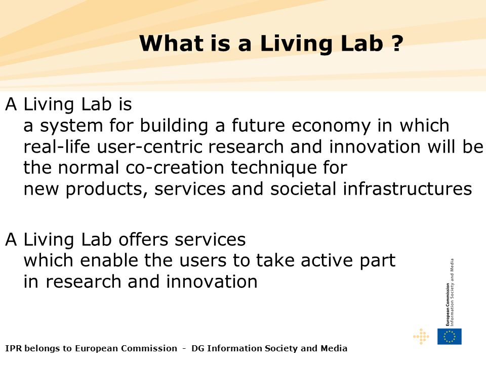 What is a Living Lab