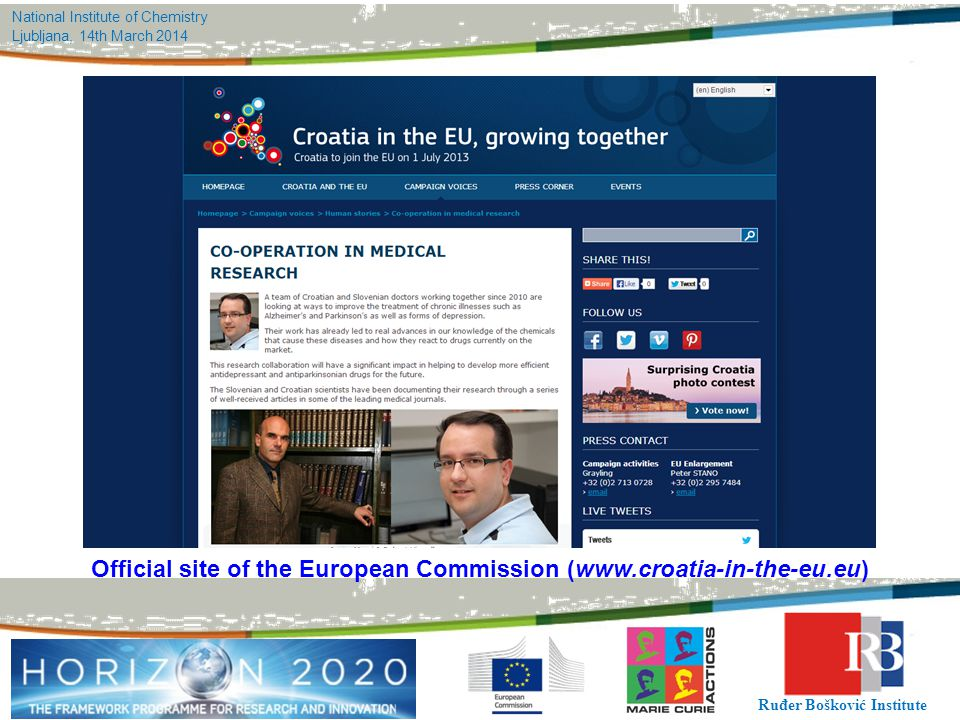Official site of the European Commission (www.croatia-in-the-eu.eu)