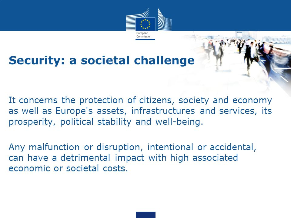 Security: a societal challenge
