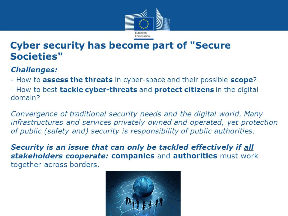 Cyber security has become part of Secure Societies
