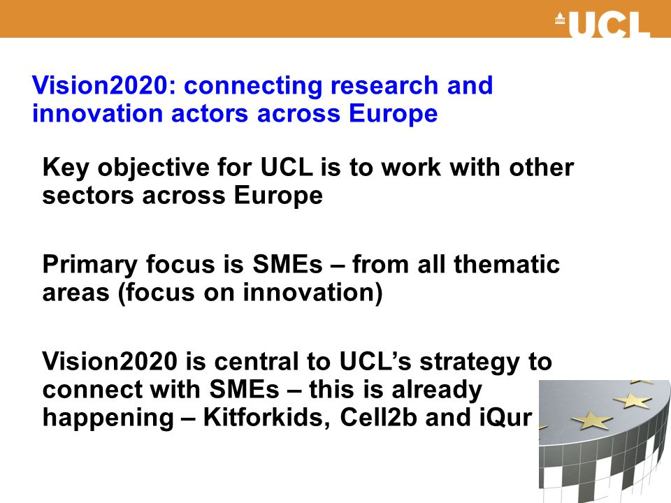 Vision2020: connecting research and innovation actors across Europe