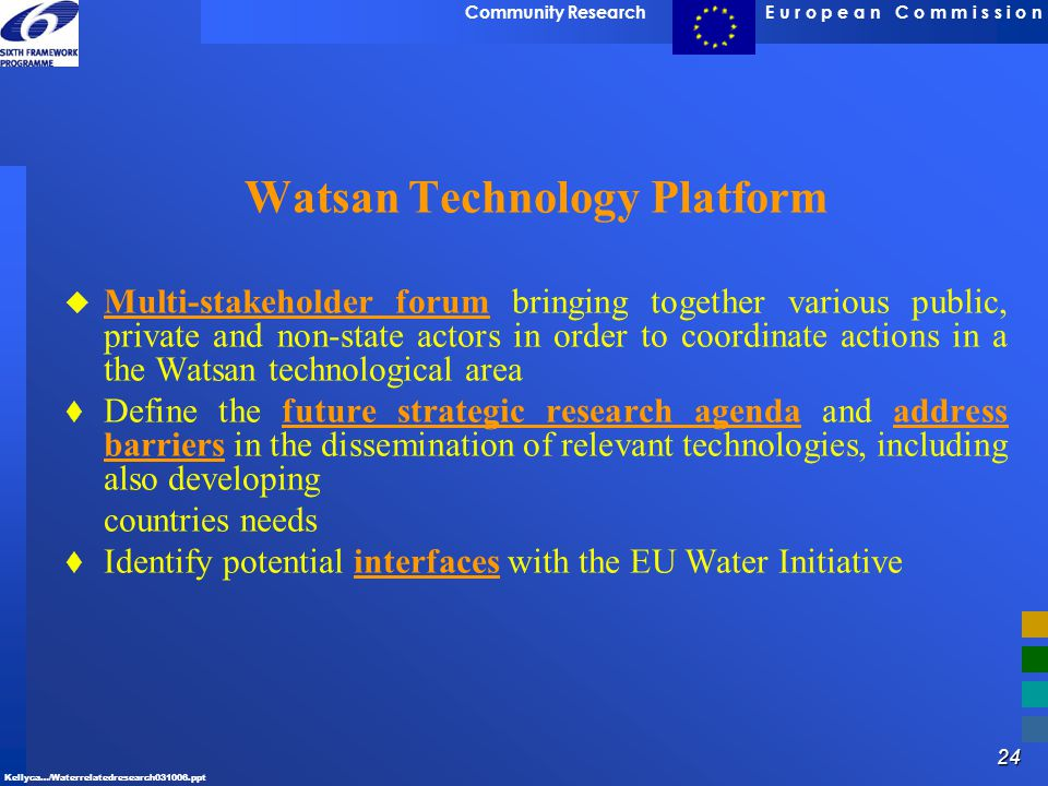 Watsan Technology Platform