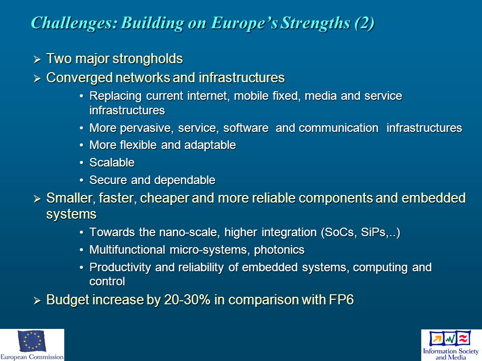 Challenges: Building on Europe's Strengths (2)