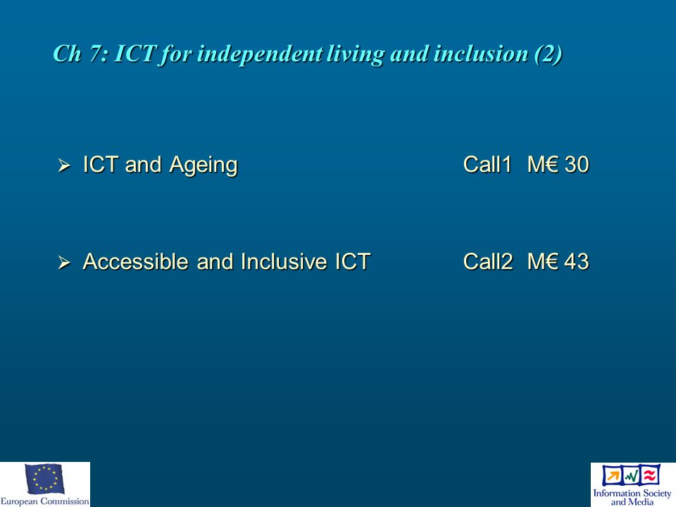 Ch 7: ICT for independent living and inclusion (2)