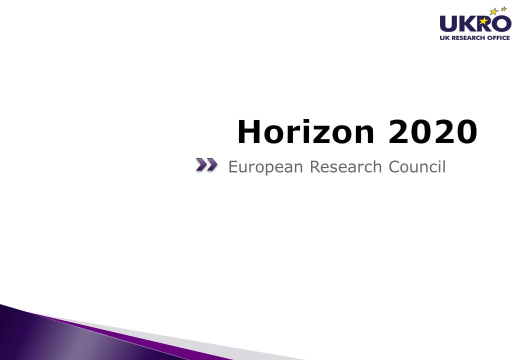 Horizon 2020 European Research Council