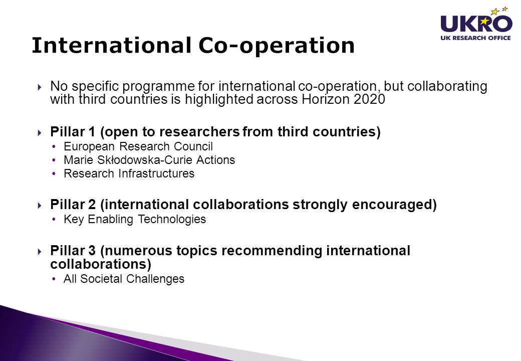 International Co-operation