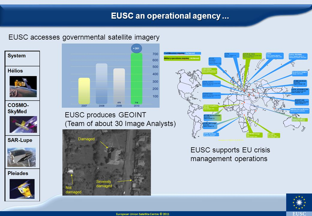 EUSC an operational agency ...