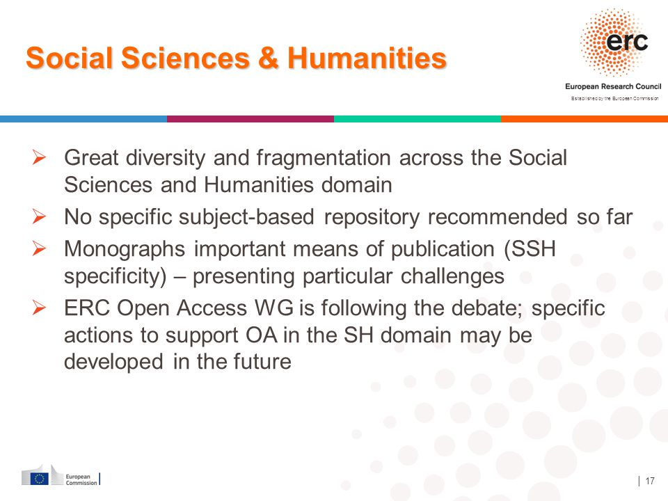 Social Sciences & Humanities