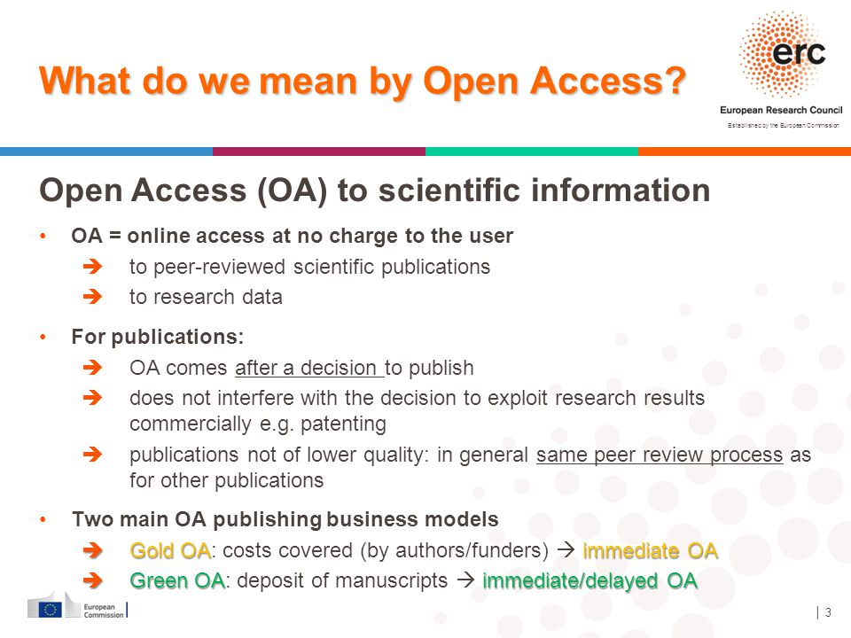What do we mean by Open Access