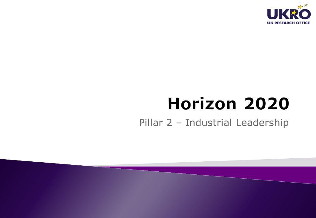 Pillar 2 – Industrial Leadership