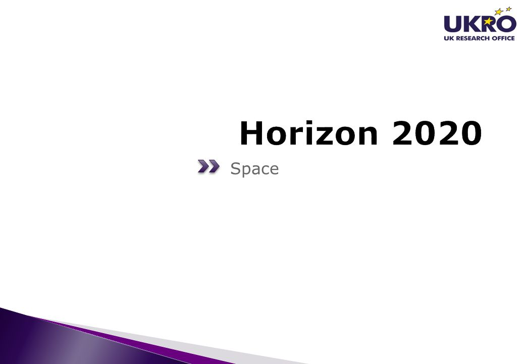 Horizon 2020 Space