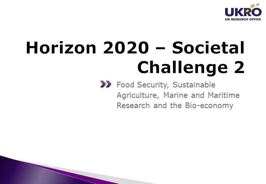 Horizon 2020 – Societal Challenge 2