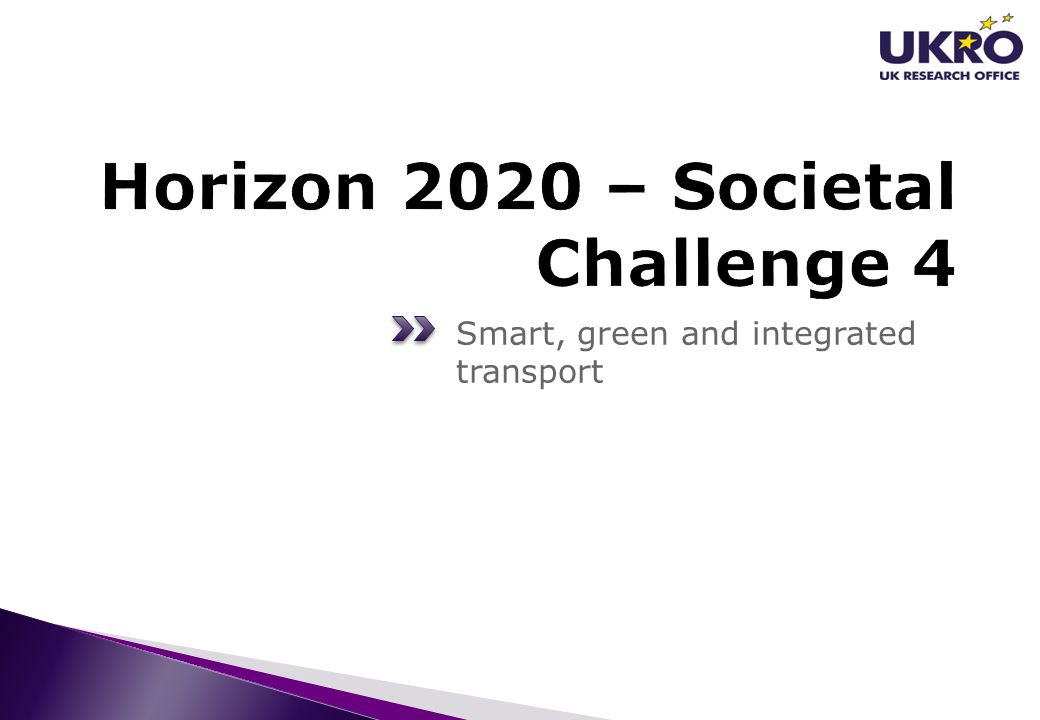 Horizon 2020 – Societal Challenge 4