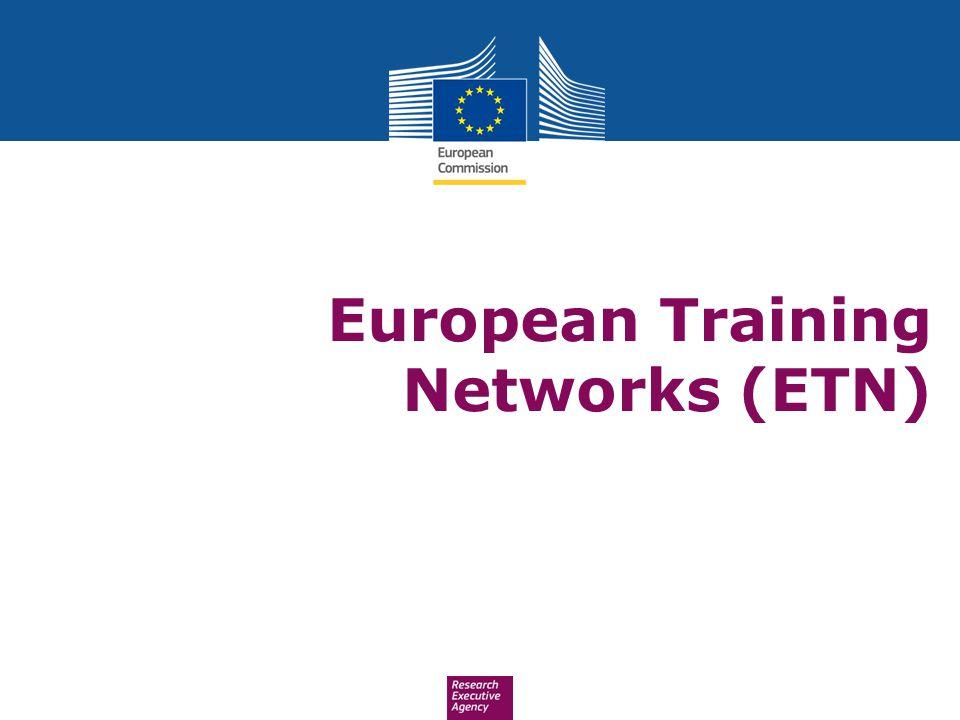 European Training Networks (ETN)