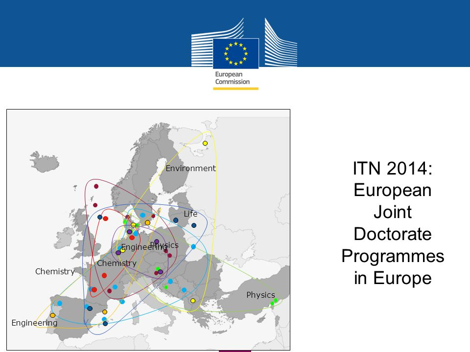 ITN 2014: European Joint Doctorate Programmes in Europe