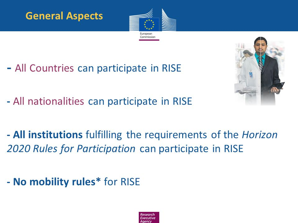 - All nationalities can participate in RISE