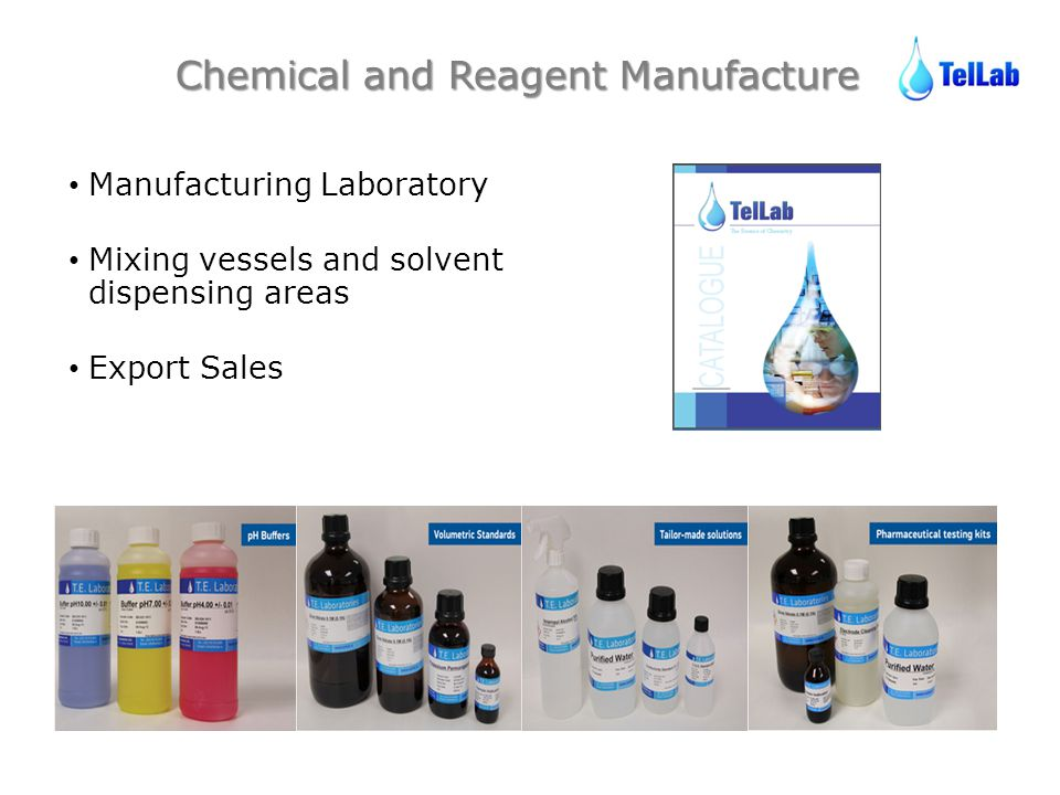 Chemical and Reagent Manufacture
