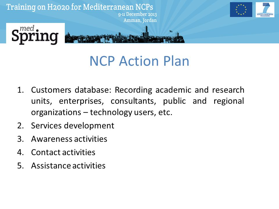 NCP Action Plan