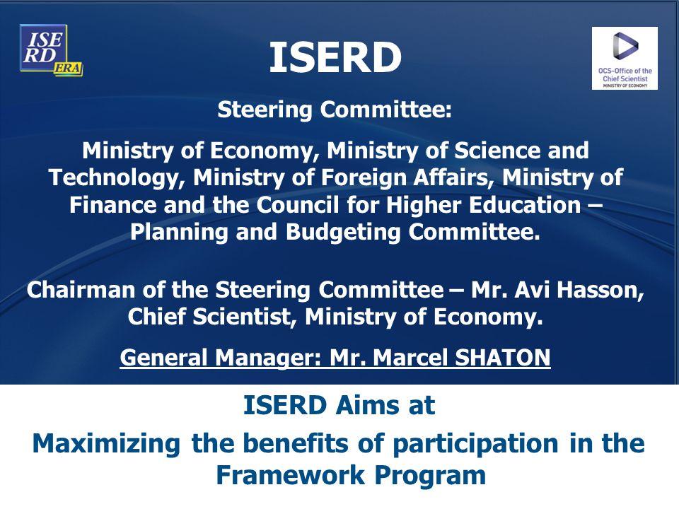 ISERD Steering Committee: