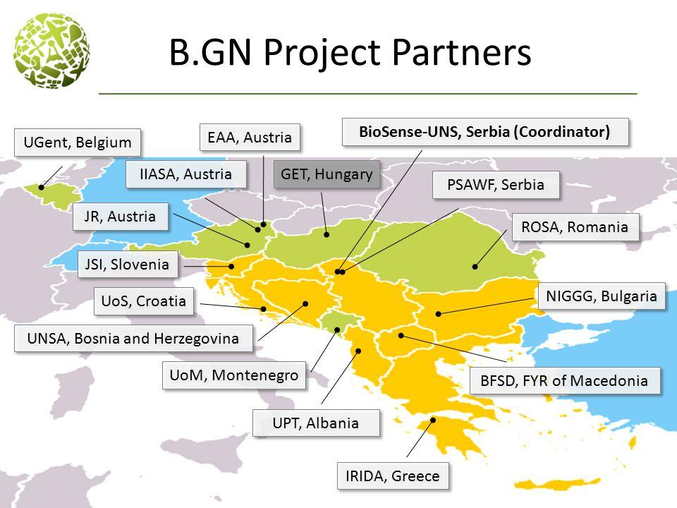 BioSense-UNS, Serbia (Coordinator)