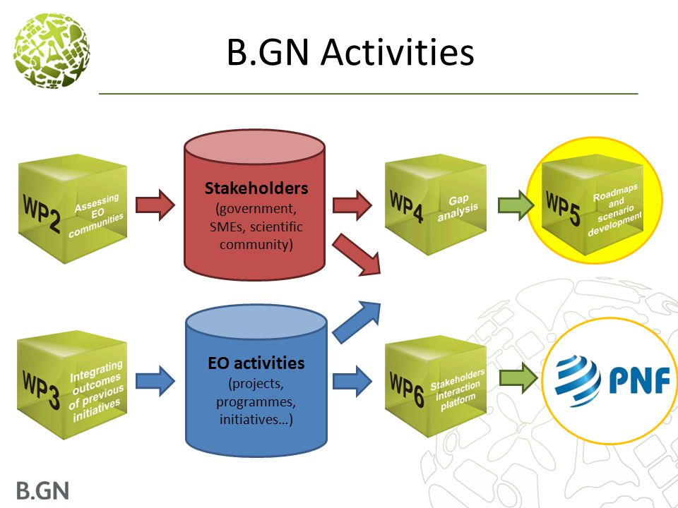 B.GN Activities Stakeholders