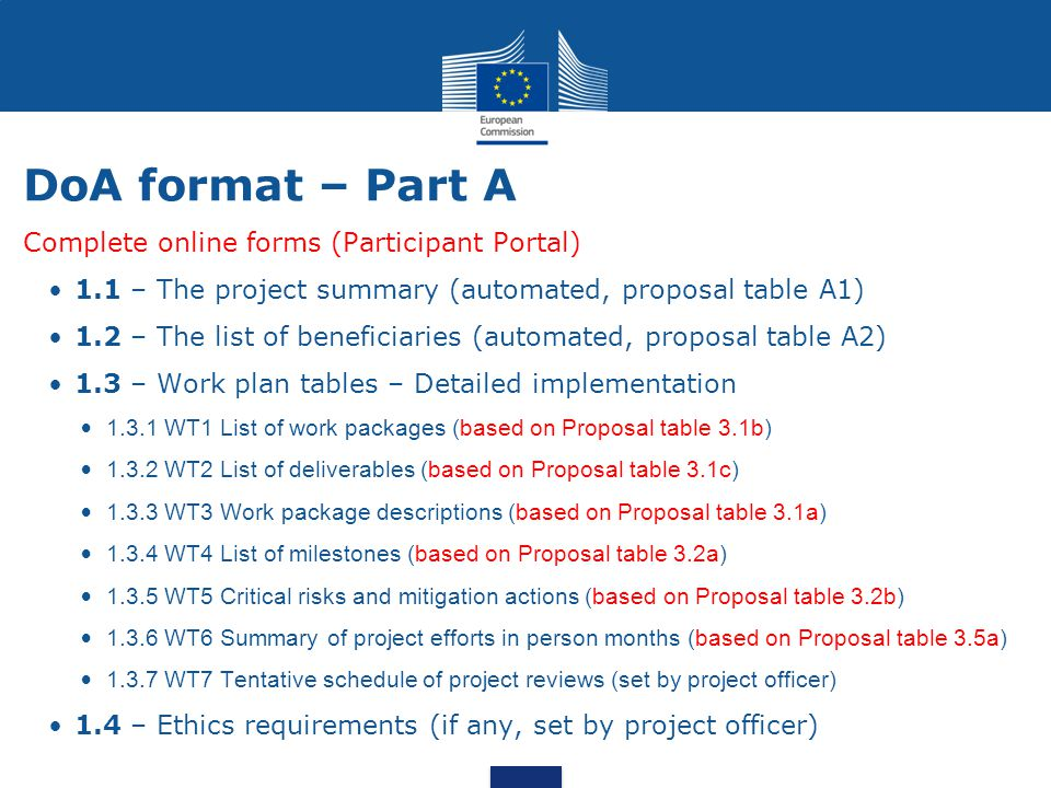 H2020 Grant preparation and signature - ppt video online download