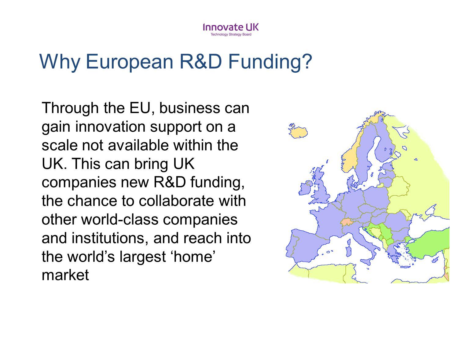 Why European R&D Funding