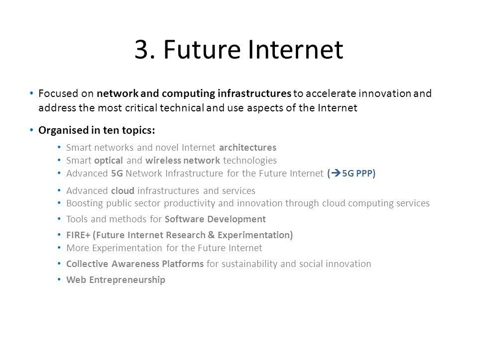 3. Future Internet