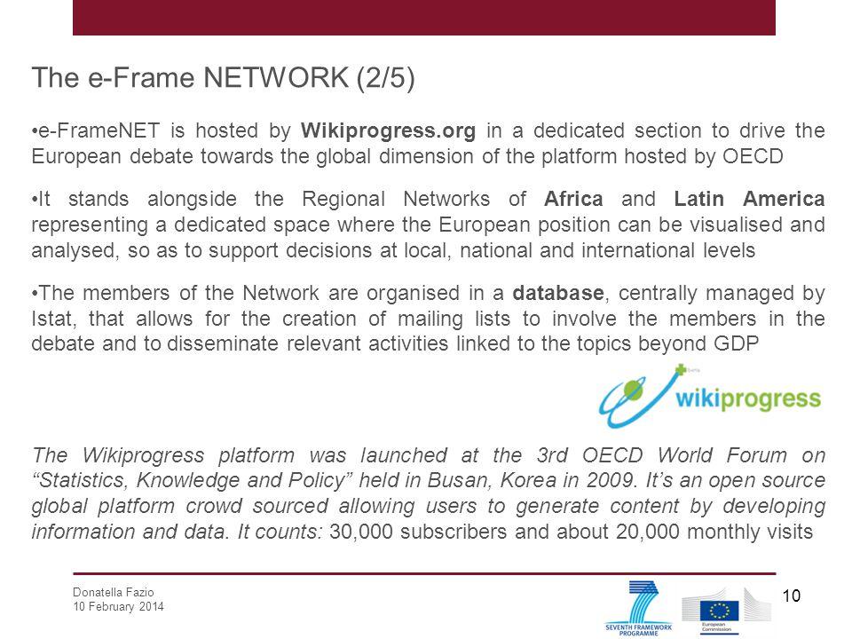 The e-Frame NETWORK (2/5)