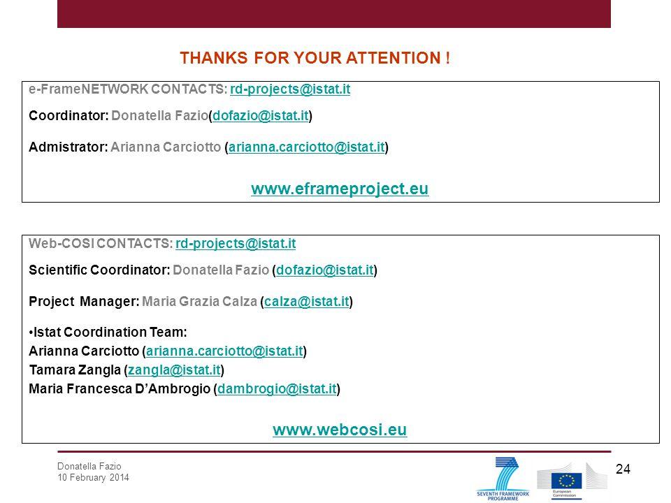 www.eframeproject.eu www.webcosi.eu