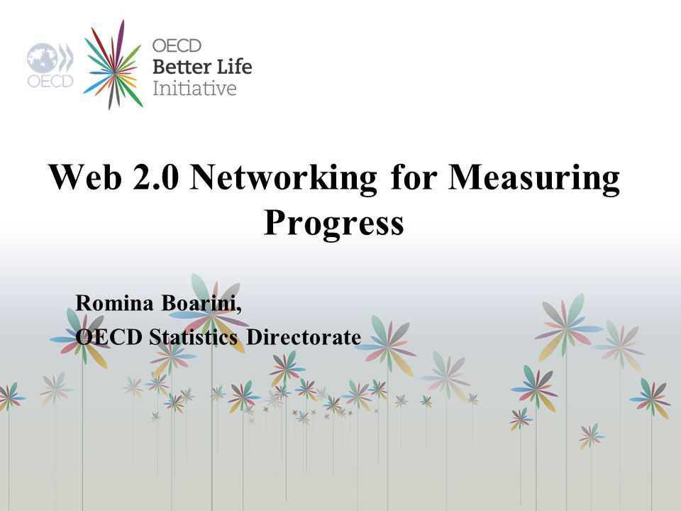 Web 2.0 Networking for Measuring Progress