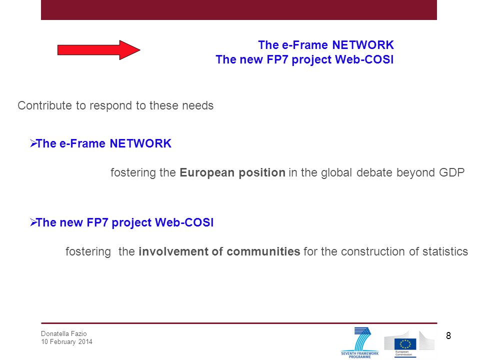 The new FP7 project Web-COSI