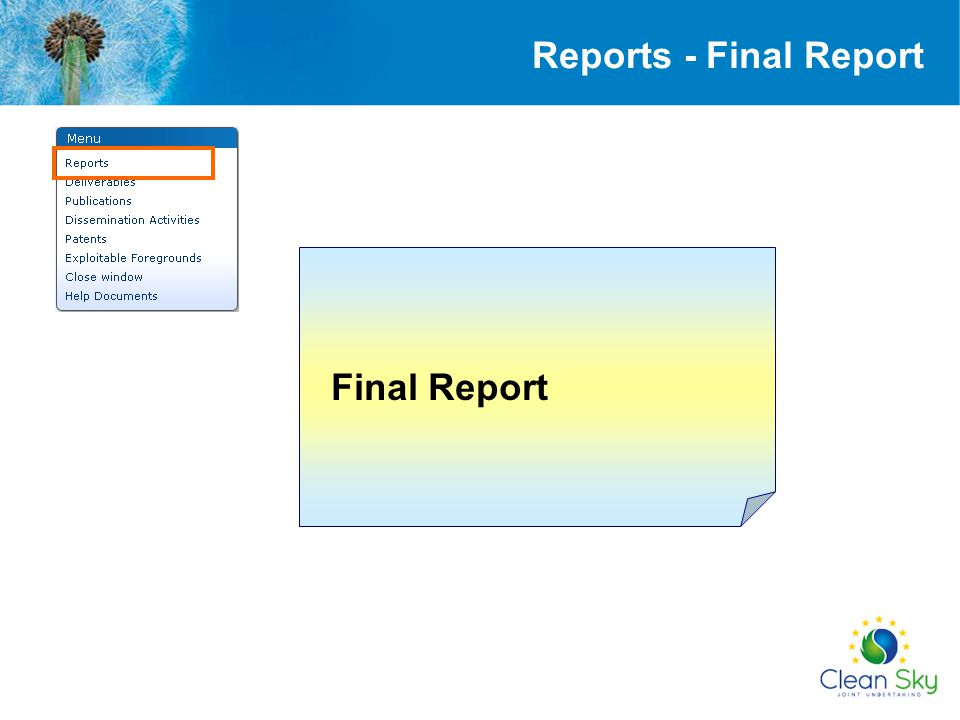 Reports - Final Report Final Report