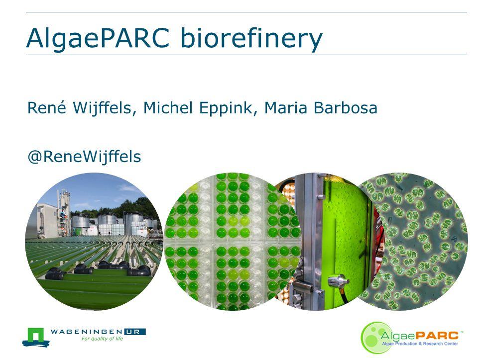 AlgaePARC biorefinery