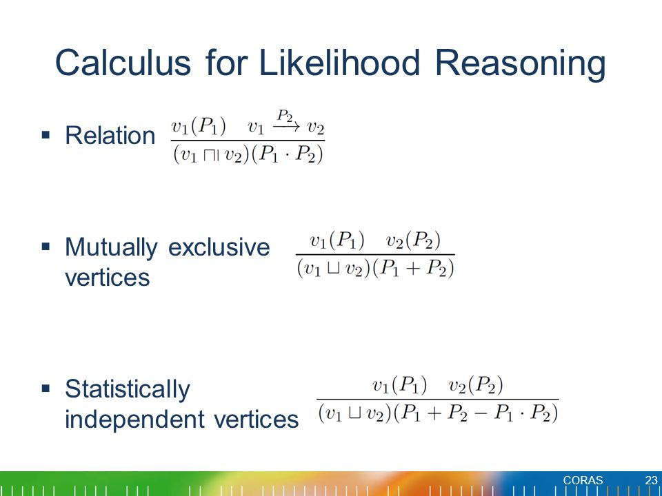Calculus for Likelihood Reasoning