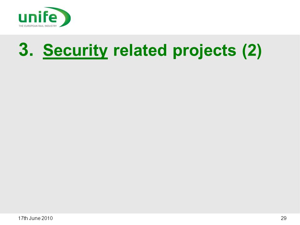 Security related projects (2)