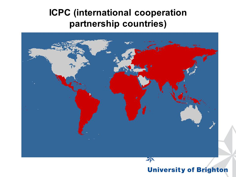 ICPC (international cooperation partnership countries)