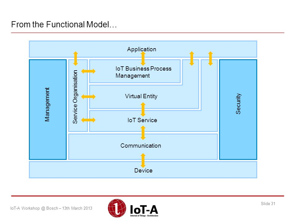 From the Functional Model…