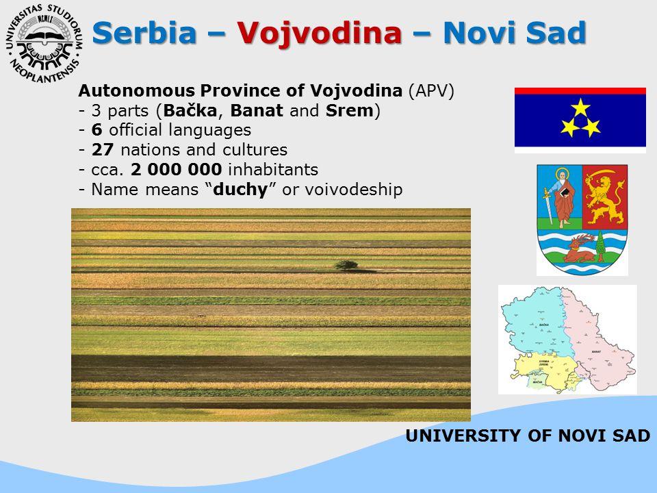 Serbia – Vojvodina – Novi Sad