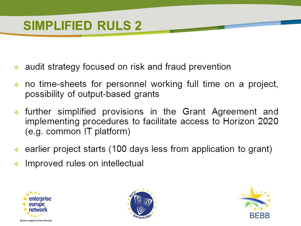 SIMPLIFIED RULS 2 audit strategy focused on risk and fraud prevention