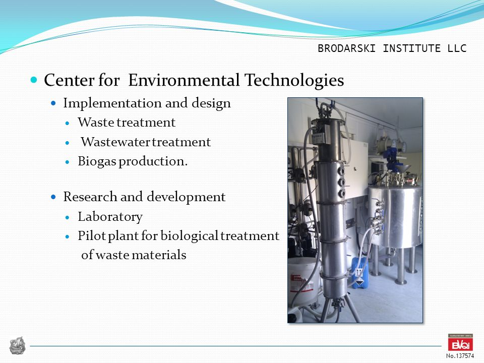Center for Environmental Technologies