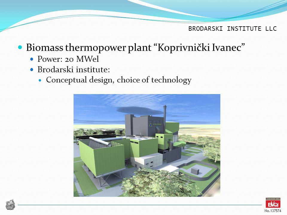 Biomass thermopower plant Koprivnički Ivanec